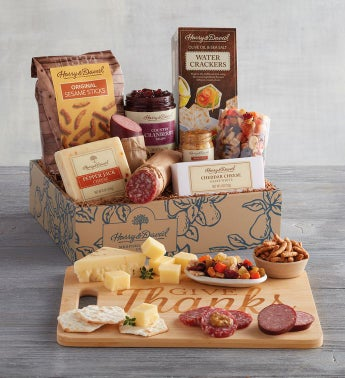 Give Thanks Meat and Cheese Gift