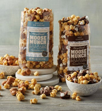 Moose Munch® Premium Popcorn – Hot Cocoa and Dulce de Leche