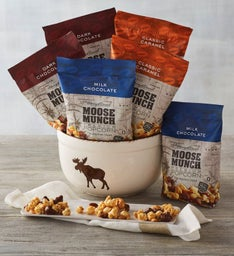 Moose Munch® Premium Popcorn with Snack Bowl