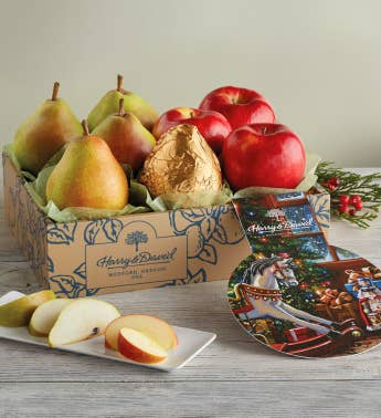 Christmas Pears and Apples