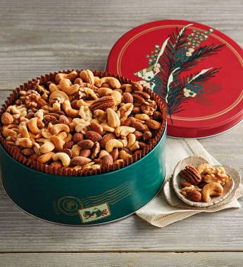 Grand Mixed Nuts Tin