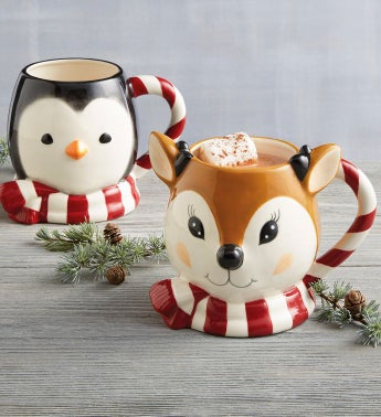Winter Buddies Mug Duo