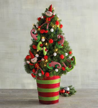 Wreath delivery trees floral centerpiece harry david