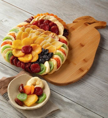 Dried Fruit with Bamboo Pear Tray
