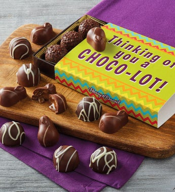 """Thinking of You a ChocoLOT"" Gift Box"