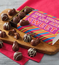 """Best Things in Life are Sweet"" Chocolate Gift Box"