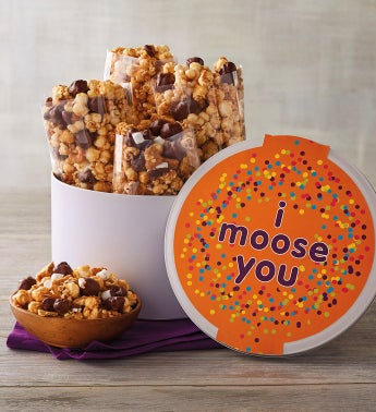 """I Moose You"" Moose Munch® Gift Tin"
