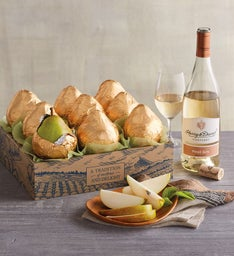 Royal Riviera® Pear Gold Gift with Wine