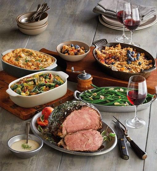 Gourmet Prime Rib Feast