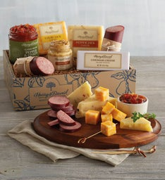 Premium Meat and Cheese Gift