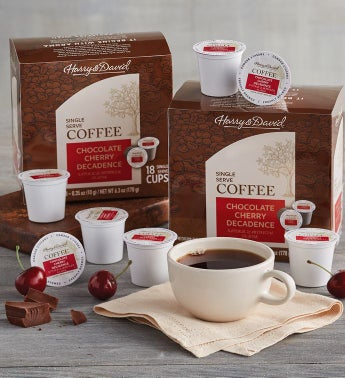 Chocolate Cherry Decadence Single Serve Coffee Two Pack