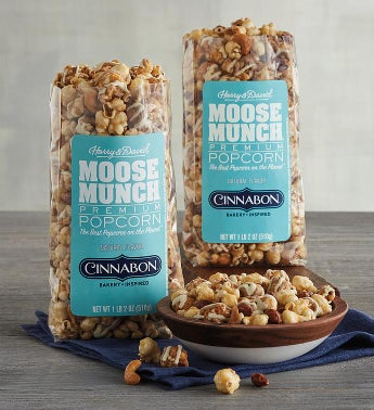 Moose Munch174 Premium Popcorn Inspired by Cinnabon174 - Duo