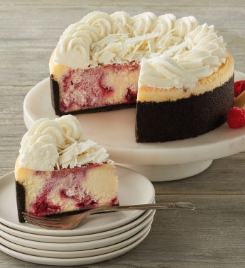 The Cheesecake Factory174 White Chocolate Raspberry Truffle174 Cheesecake - 734 snipeImage