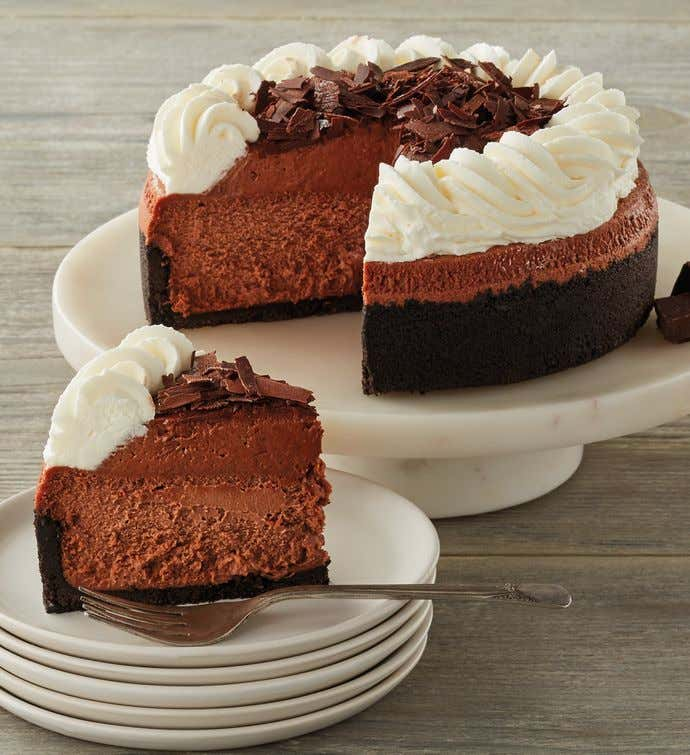 The Cheesecake Factory® Chocolate Mousse Cheesecake - 7""