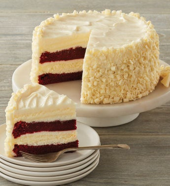 The Cheesecake Factory174 Ultimate Red Velvet Cake Cheesecaketrade - 734 snipeImage