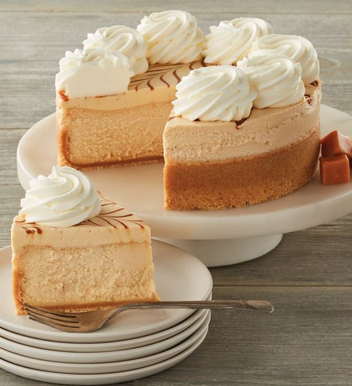 The Cheesecake Factory® Dulce de Leche Caramel Cheesecake - 7""