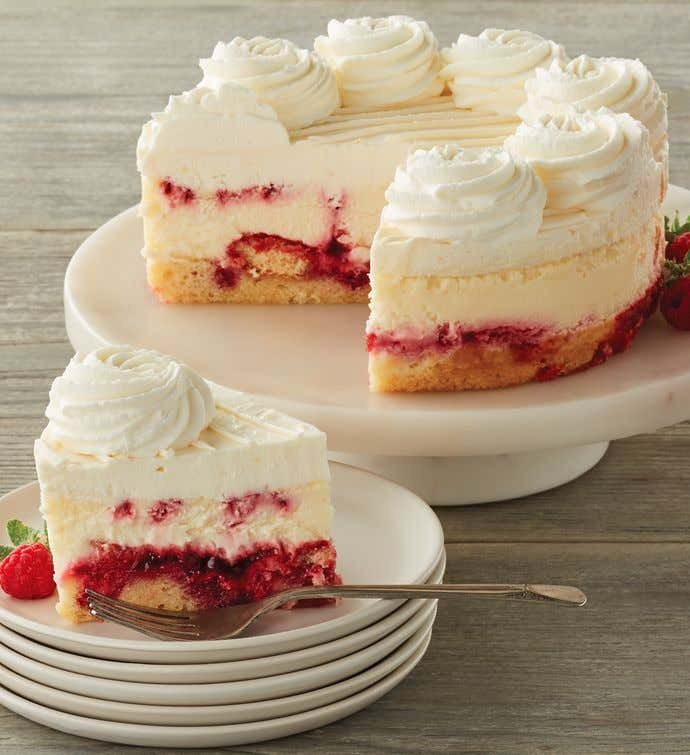 The Cheesecake Factory® Lemon Raspberry Cream Cheesecake - 7""
