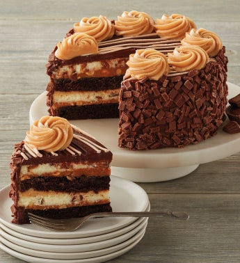 The Cheesecake Factory® REESE'S® Peanut Butter Chocolate Cake Cheesecake - 7""