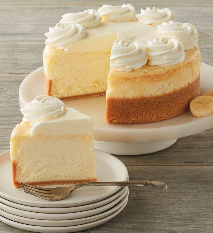The Cheesecake Factory Banana Cream Cheesecake