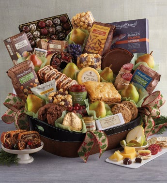 Supreme Hearthside Gift Basket