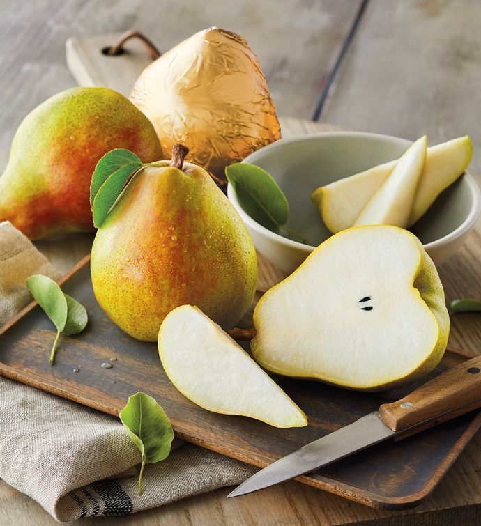 Royal Riviera Pears with Fruit Bowl