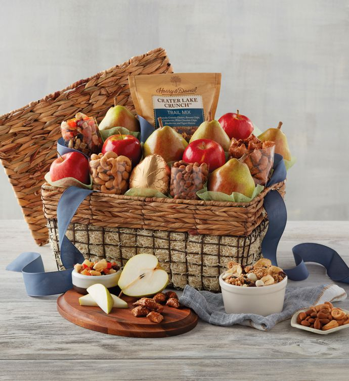 Deluxe Orchard Gift Basket | Fruit