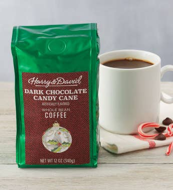 Dark Chocolate Candy Cane Coffee