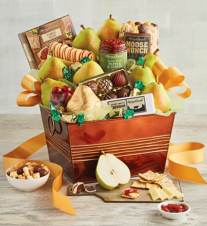 Deluxe Favorites Gift Basket | Food