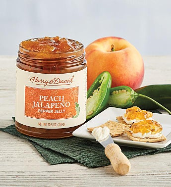 Fire Roasted Peach Pepper Jelly