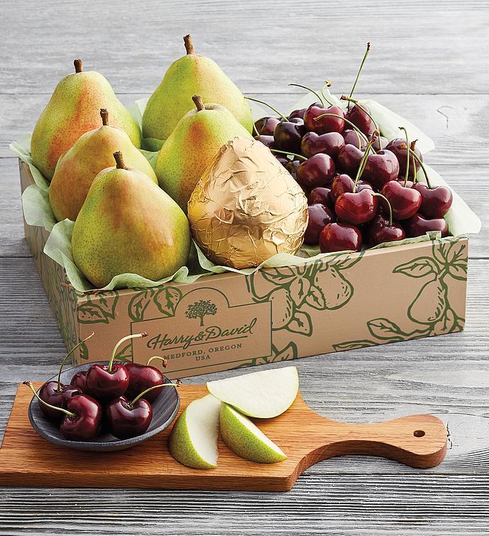 Royal Verano Pears and PlumpSweet Cherries