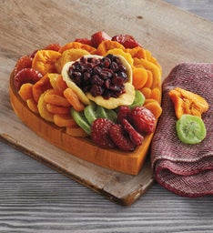 Dried Fruit Heart Tray