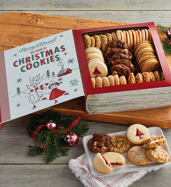 The Book Of Christmas Cookies Cookie Gifts Delivered Harry David