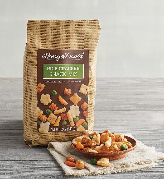 Rice Cracker Snack Mix
