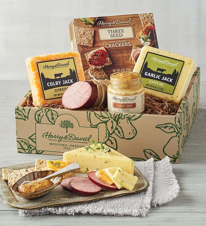 Classic Meat and Cheese Gift Box