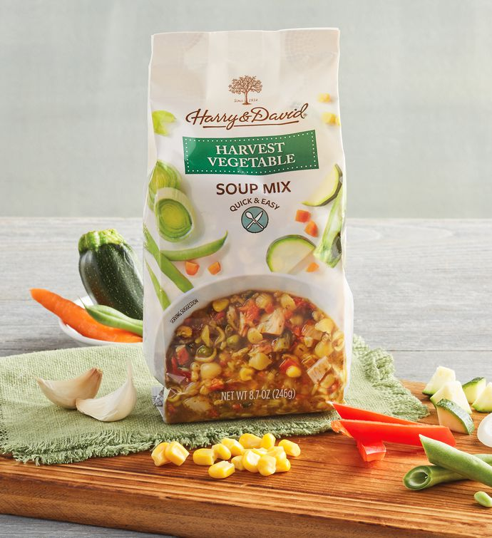 Harvest Vegetable with Pasta Soup Mix
