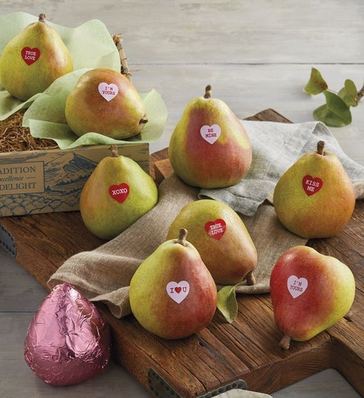 Valentine's Day Pears Gift Box