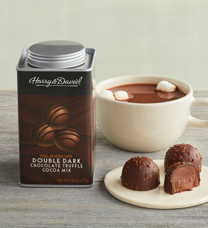 Double Dark Chocolate Truffle Cocoa Mix