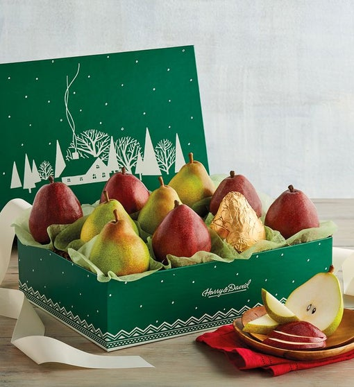 Christmas Pears.Colors Of Christmas Pears