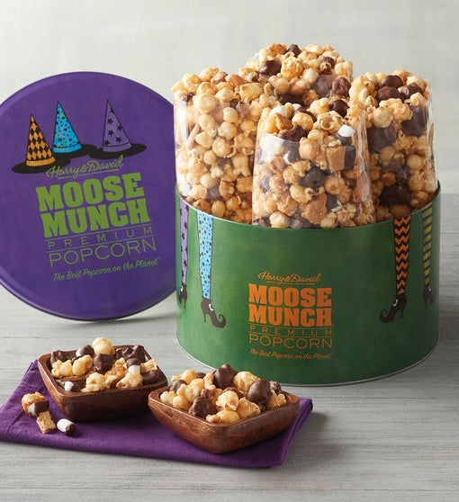 Halloween Moose Munch® Premium Popcorn Tin