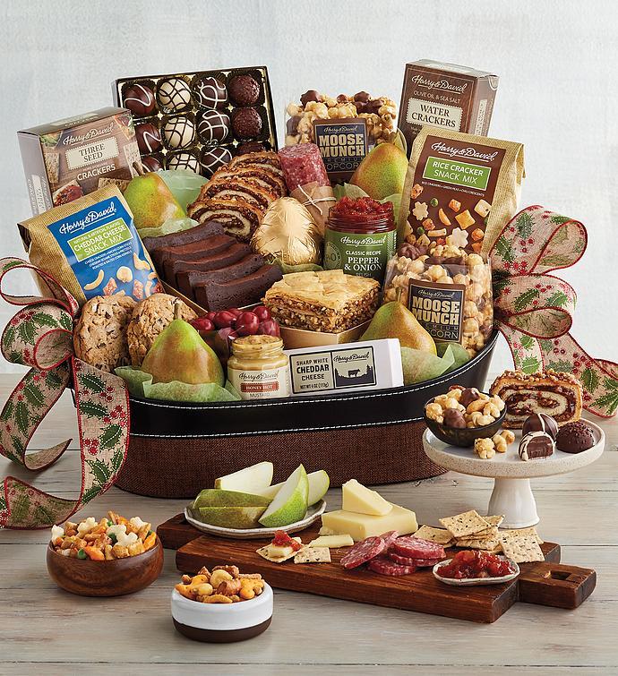 Classic Hearthside Gift Basket