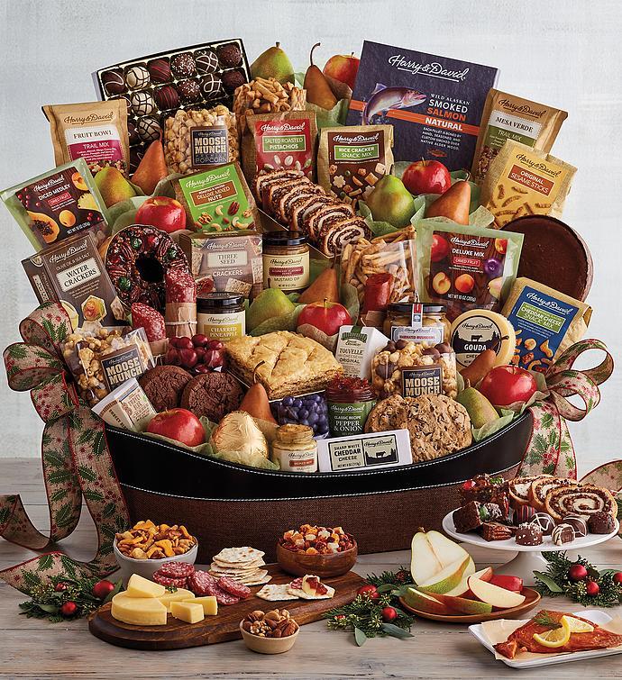 Ultimate Hearthside Gift Basket   Christmas Gift Basket ...