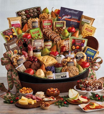 Ultimate Hearthside Gift Basket