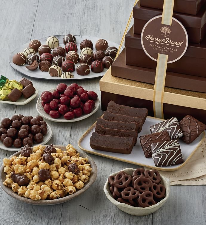 Tower of Chocolates Deluxe Gift