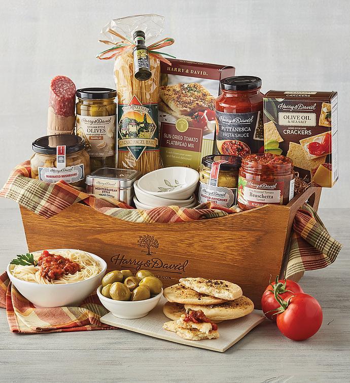 Italian Inspirations Gift Basket