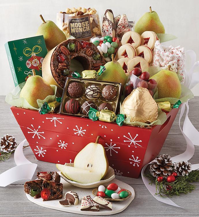 Classic Christmas Gift Basket