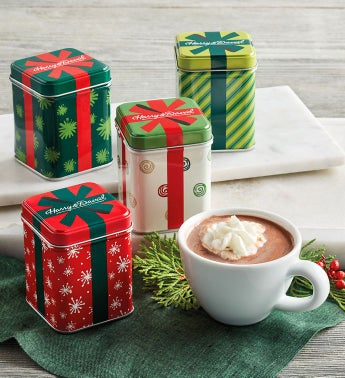 Holiday Hot Chocolate Tin Collection