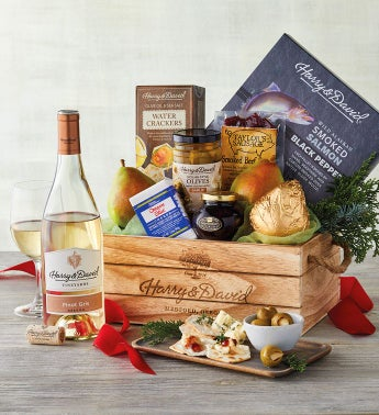 Northwest Gift Basket with Wine