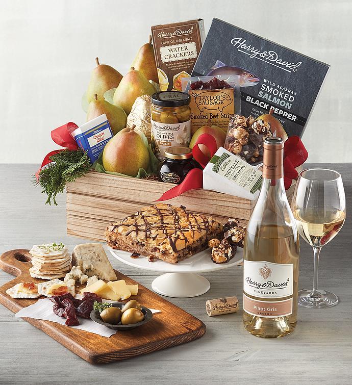 Grand Northwest Gift Basket with Wine