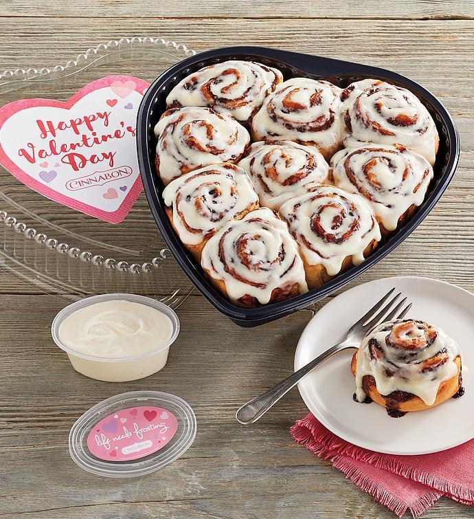 Cinnabon MiniBon Valentines Day Rolls