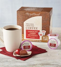 Chocolate Cherry Decadence Single-Serve Coffee